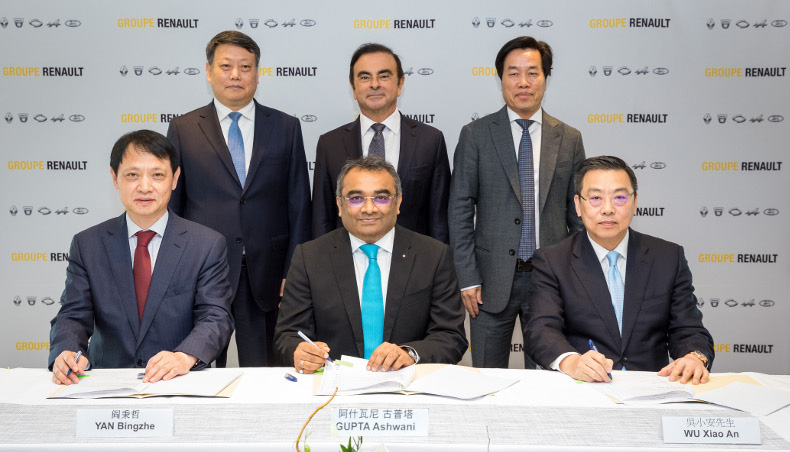 Renault and Brilliance sign strategic cooperation agreement with Liaoning province, China