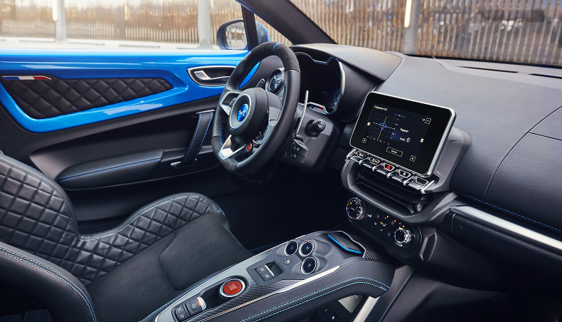 2018 - Dashboard of the Alpine A110