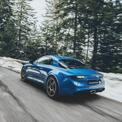 The Alpine A110: the most iconic model