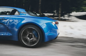Alpine A110: the quest for agility