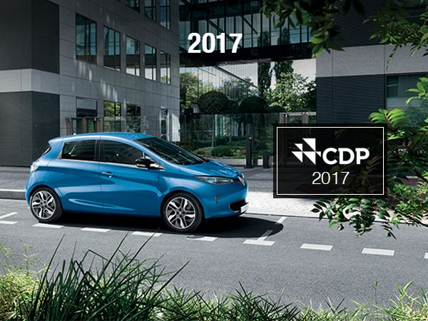 awarded Groupe Renault an A- for its climate change efforts, which categorizes the company as a