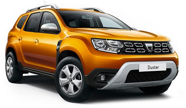 Overview of some models: Dacia Duster.
