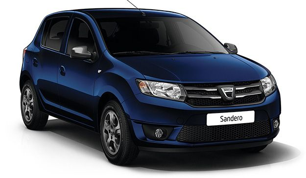 Overview of some models: Dacia Sandero.