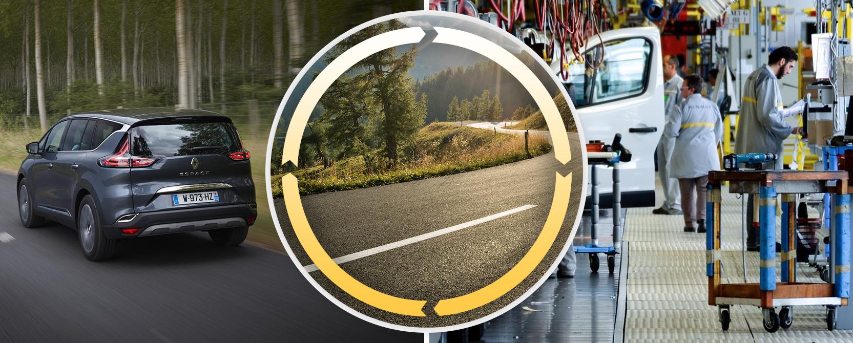 Renault, des leviers de transformation de l'automobile pour répondre aux trois enjeux environnementaux