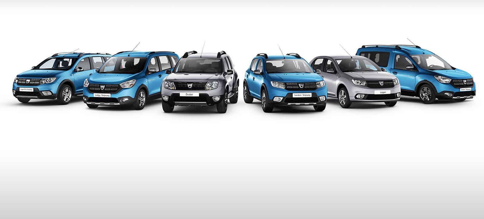 Retrouvez la gamme Dacia sur nos sites.