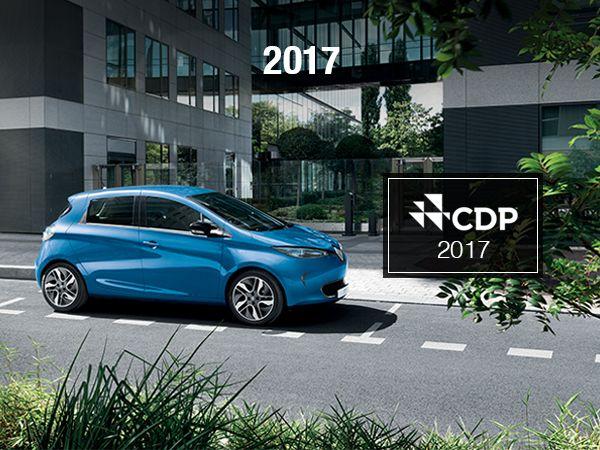 CDP a attribué au groupe Renault la note A sur le volet changement climatique.