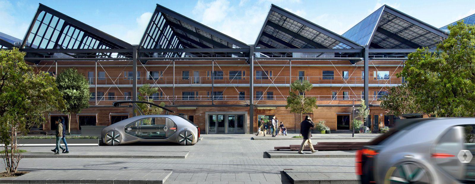 Le Groupe Renault s'est engagé à réduire son empreinte carbone monde par véhicule.