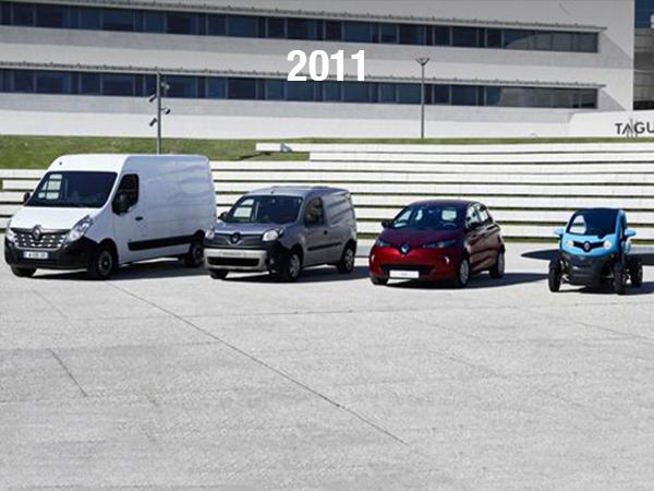 Renault met en circulation des véhicules électriques pour éviter les émissions de CO2