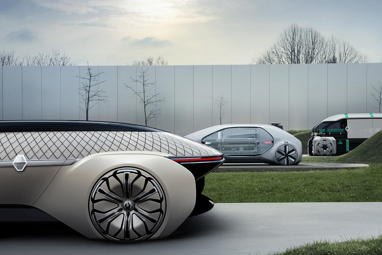 Concept-Car Renault EZ-GO / EZ-PRO / EZ-ULTIMO
