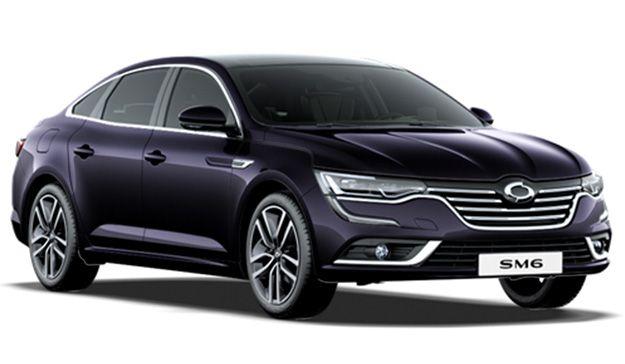 Aperçu de quelques modèles : Renault Samsung Motors SM6.