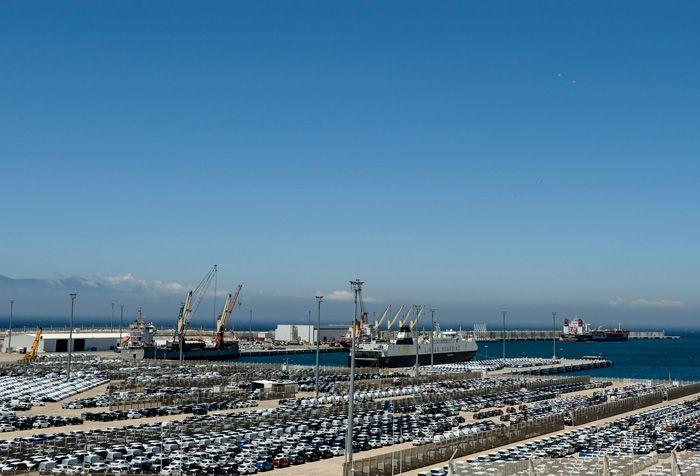 L'usine du Groupe Renault à Tanger, Maroc.
