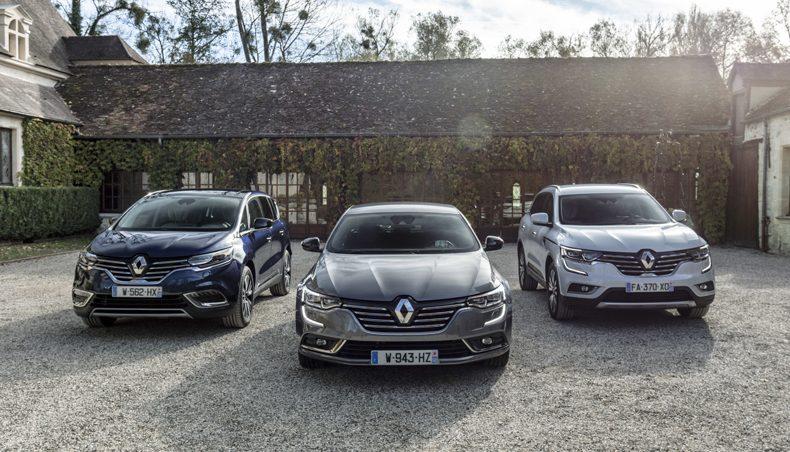 2018 - Renault Espace / Renault Talisman / Renault Koleos