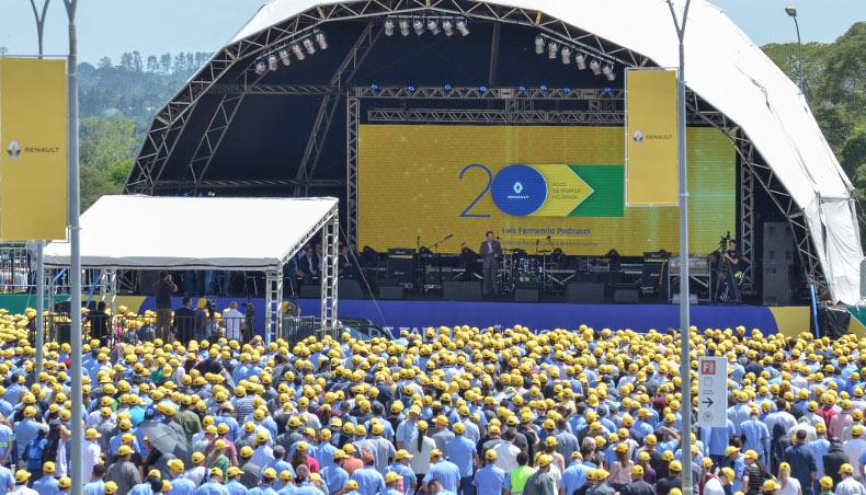 Le Groupe Renault fête cette année ses 20 ans de présence industrielle au Brésil