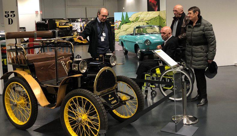 Philippe Croizon sensibilise les collaborateurs de Renault Flins au handicap