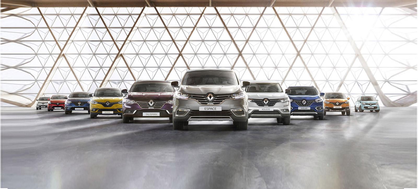 In Studio - Renault ZOE, Clio, Mégane GT, Scenic, Talisman, Espace, Koleos, Kadjar, Captur, Twingo