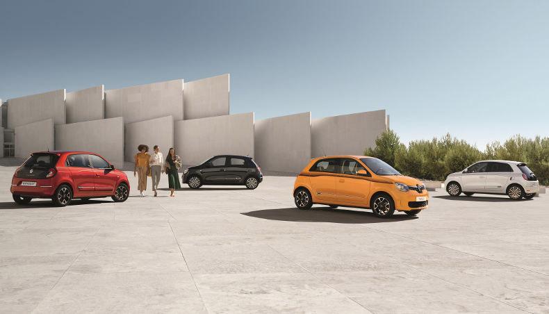 2019 - Nouvelle Renault TWINGO - boite automatique EDC - en situation statique