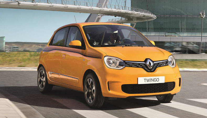 2019 - New Renault TWINGO - EDC automatic gearbox - in situation in the City