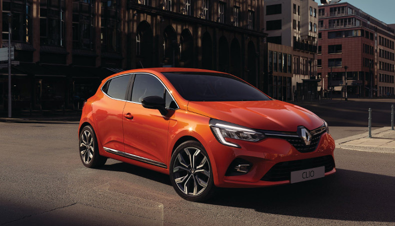 2019 - Nouvelle Renault Clio-5 - Design - Orange Valencia