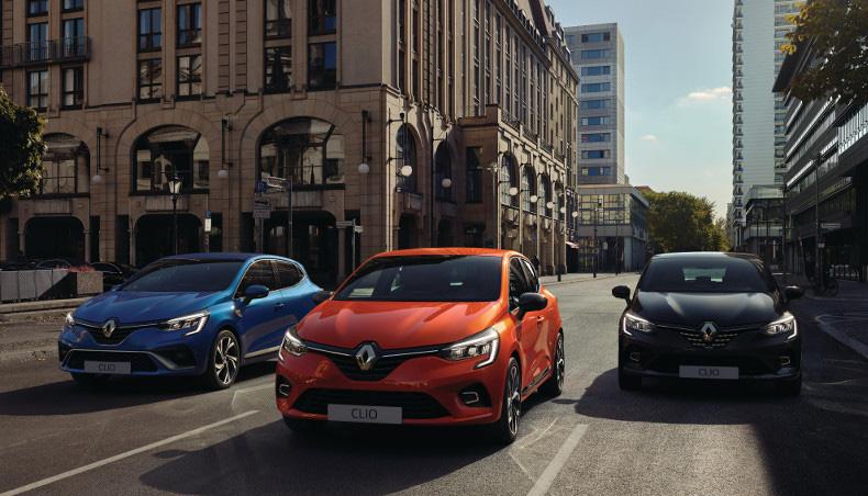 2019 - New Renault CLIO R.S. Line, new Renault Clio and new Renault CLIO Initiale Paris