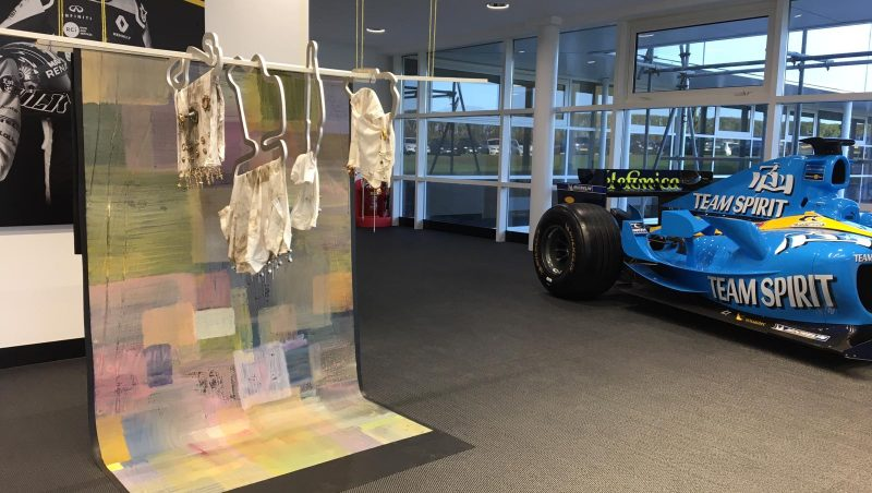 Renault art collection – New works created at Enstone