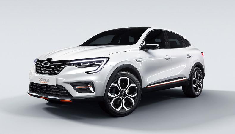 2019 - Showcar - Renault Samsung Motors XM3 Inspire - 3/4 avant
