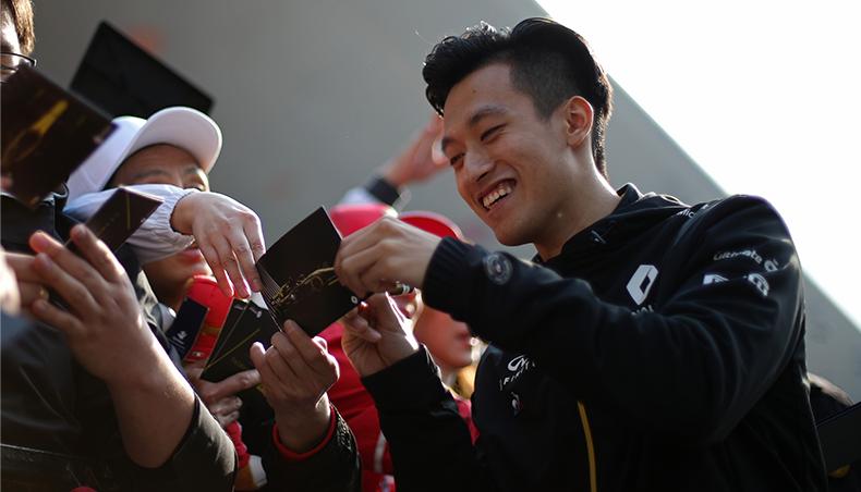 Renault Sport Academy : les pilotes chinois à l'honneur au Grand Prix de Shanghai