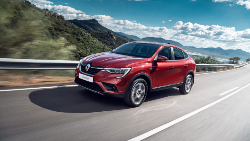 ARKANA: Groupe Renault unveils the new production version of its Coupé SUV for Russia.