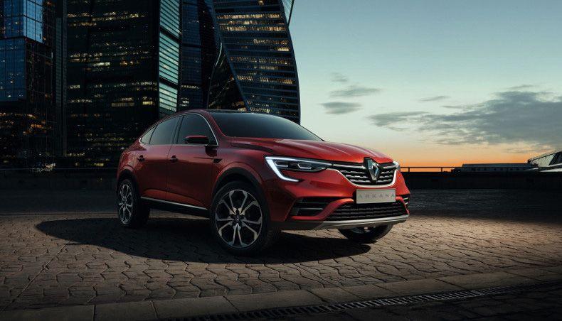 Au salon international de l'automobile de Moscou, le Groupe Renault révélait en première mondiale le show-car Arkana.