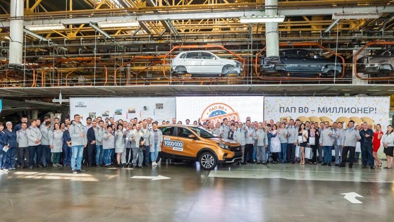 AVTOVAZ produces millionth car on its B0 Line assembly line