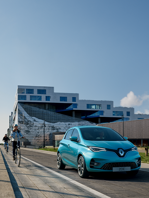 All electric & hybrid vehicles from Groupe Renault