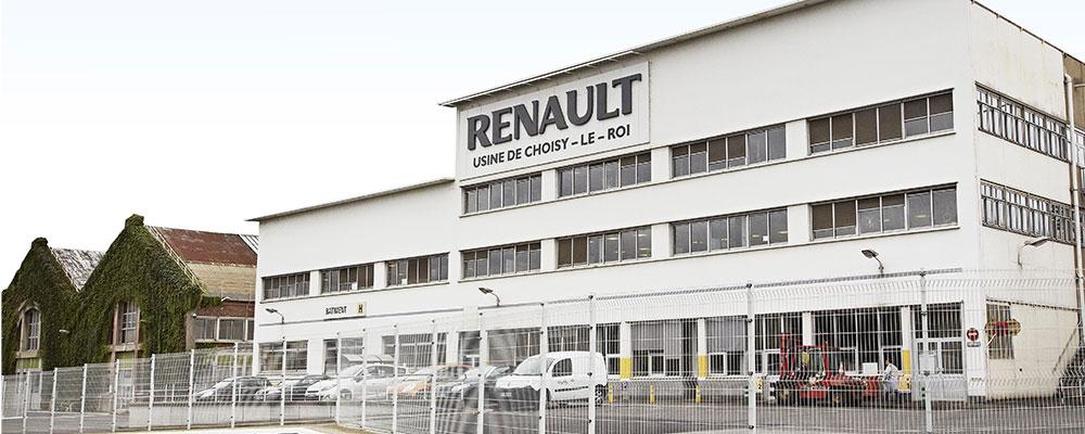 usine de Choisy-le-Roi