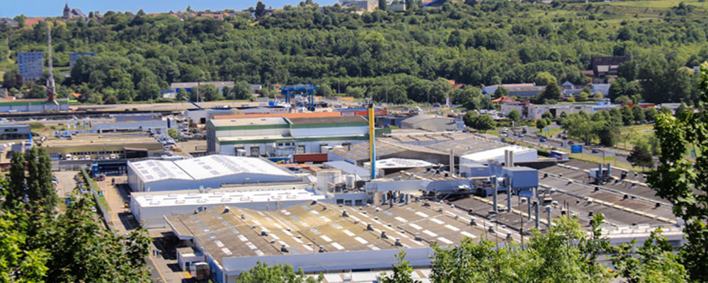 usine de Dieppe