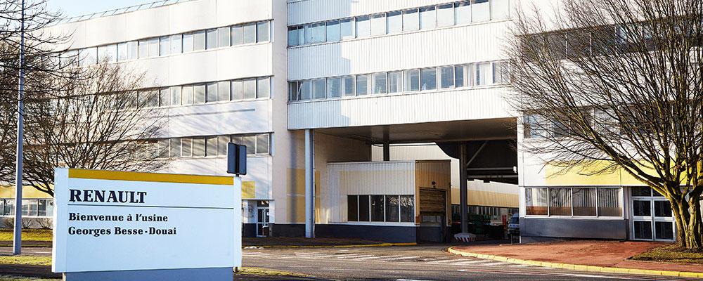 usine de Douai