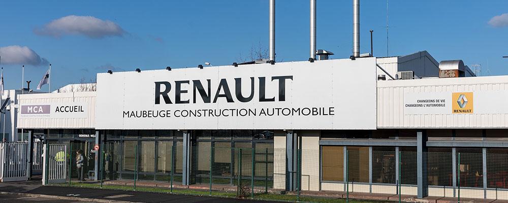 usine de Maubeuge