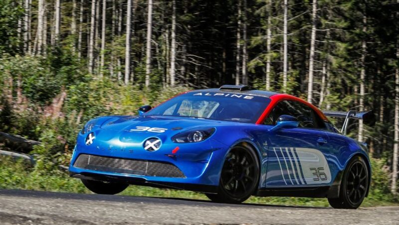Alpine A110 Rally: a new A110, built to compete