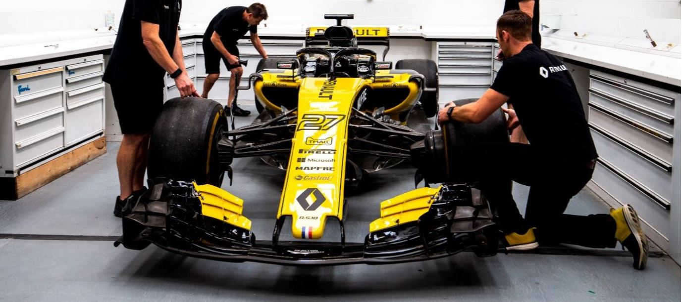 Behind the scenes at Renault Sport Racing, Enstone, Groupe Renault's F1 factory