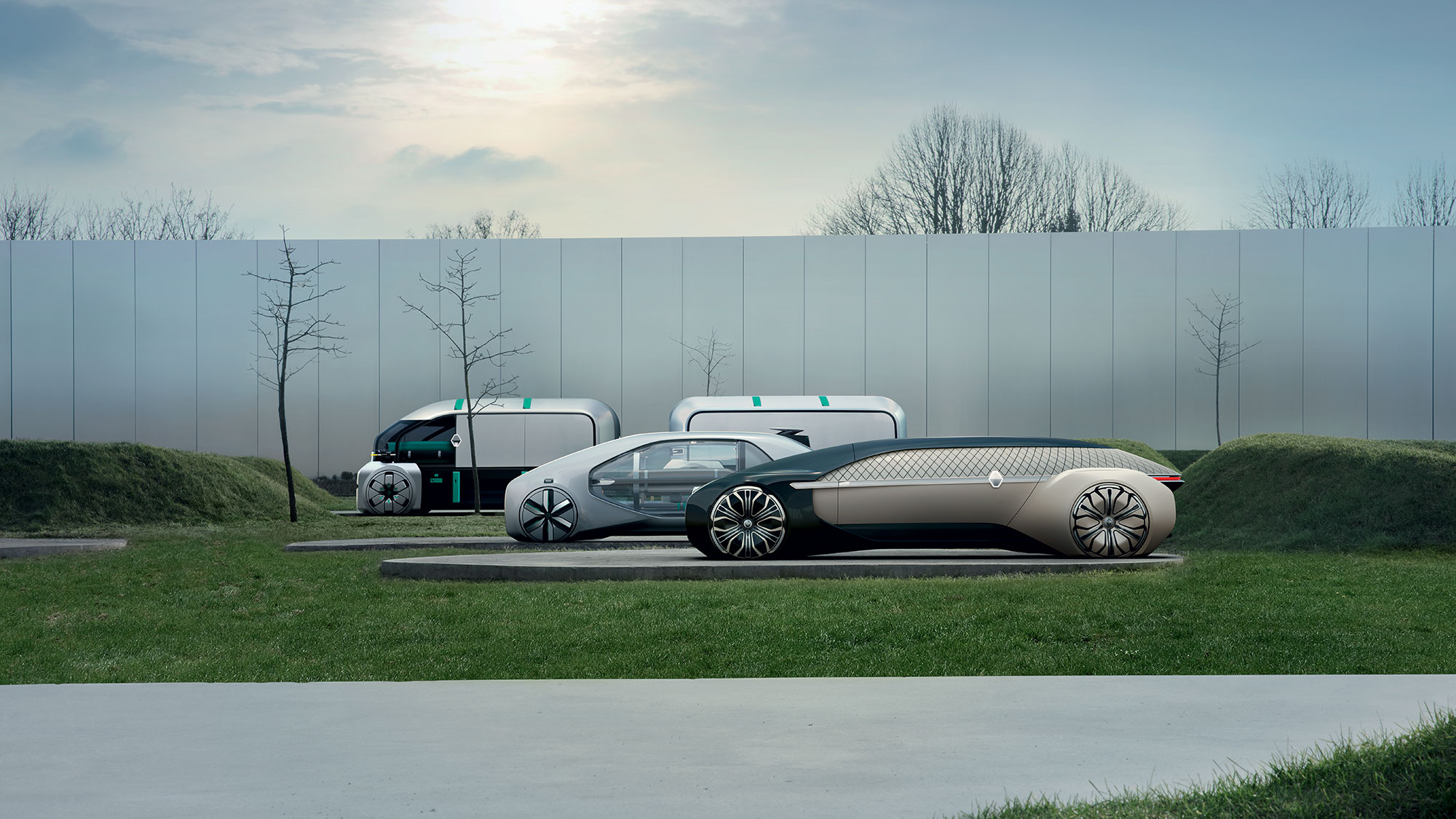 Renault robots taxis