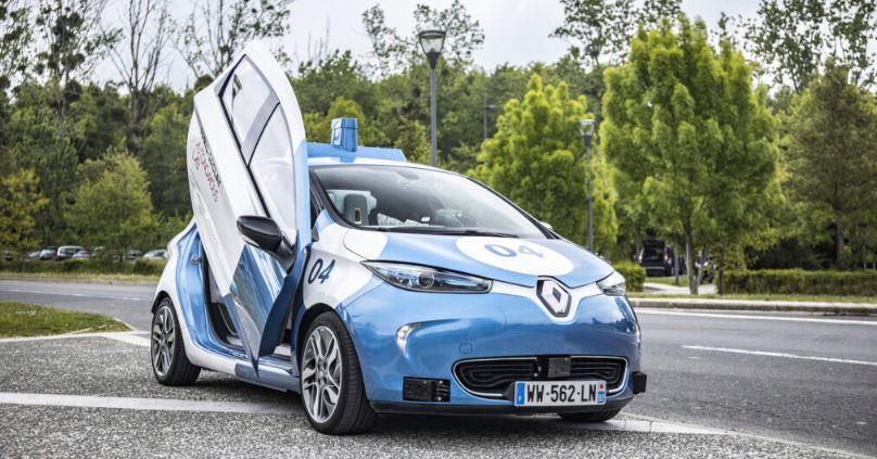Ils ont testé les ZOE Cab autonomes et témoignent !
