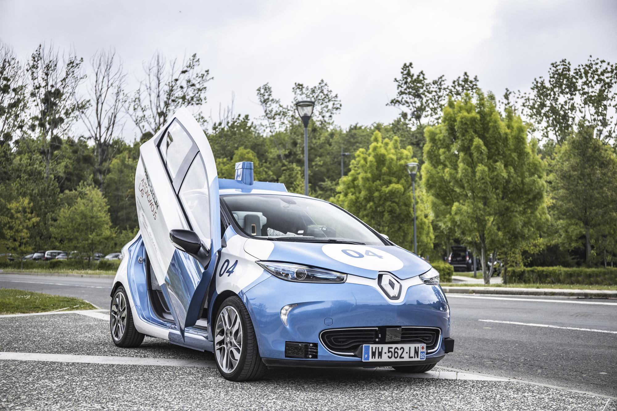 ZOE Cab, un véhicule autonome | Groupe Renault