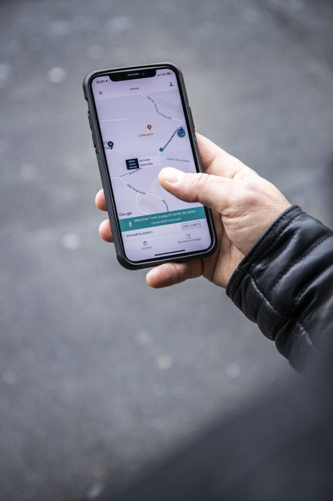 ZOE Cab, le véhicule autonome | Groupe Renault