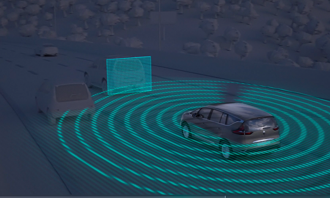 Vehicles are able to analyze their environment