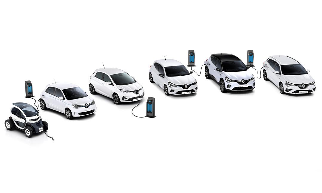 Création d'une gamme hybride ou électrifiée