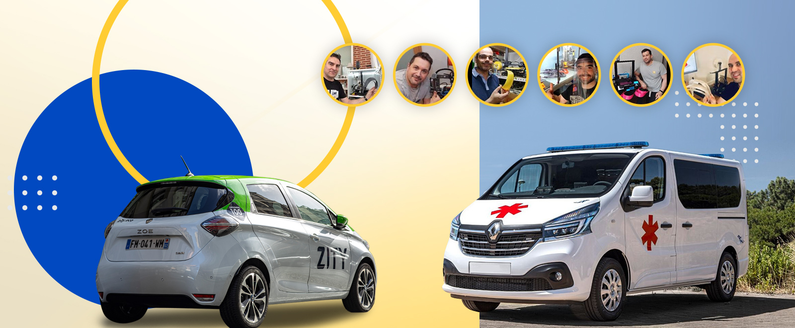 Groupe Renault's initiatives to help tackle the COVID-19 crisis