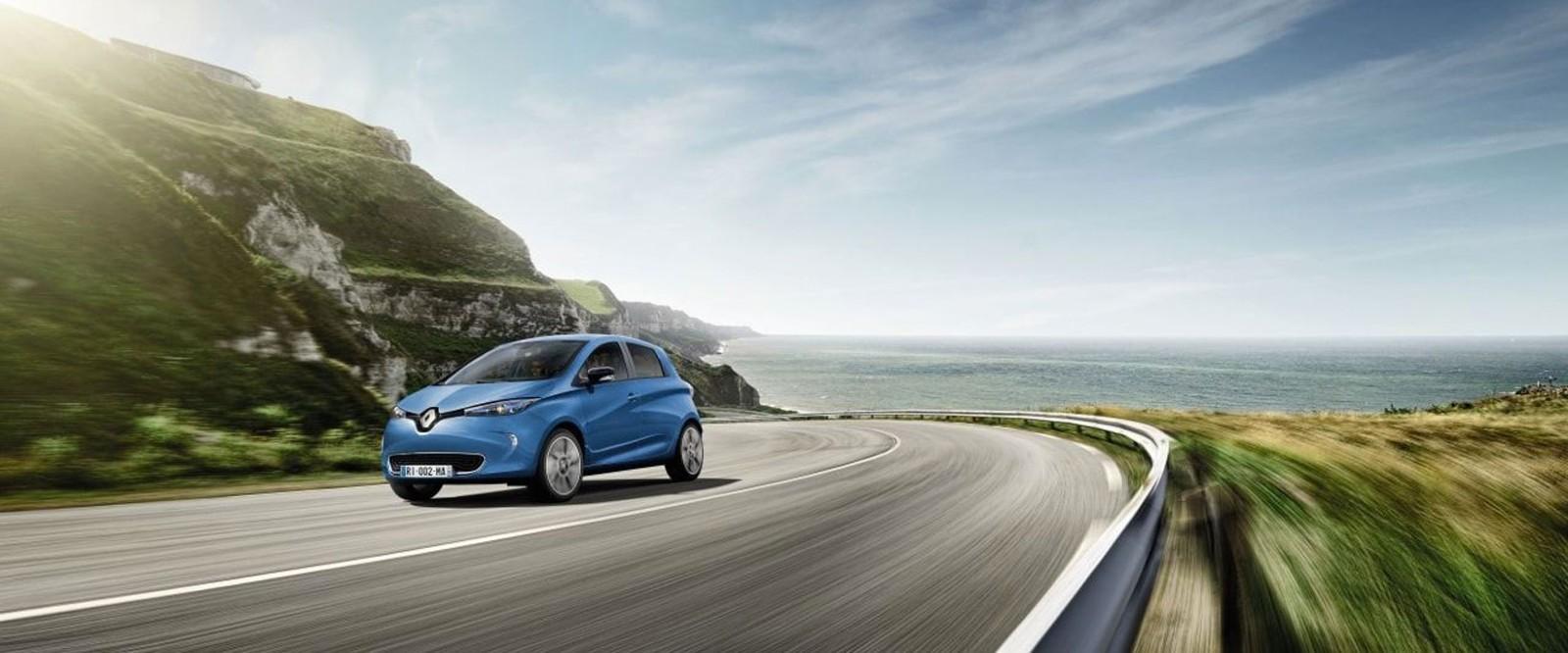 Renault vehicle electric