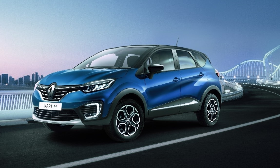 NEW KAPTUR: A RENAULT CROSSOVER DESIGNED FOR RUSSIA