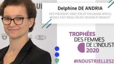 "French Women of Industry Trophy: Delphine de Andria named ""international woman"" of the year"