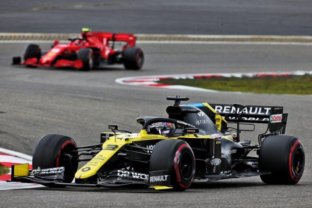 Podium For Renault Dp World F1 Team Groupe Renault