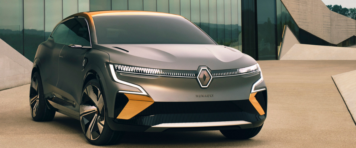 Renault MÉGANE eVISION: a design at the service of efficiency and emotion