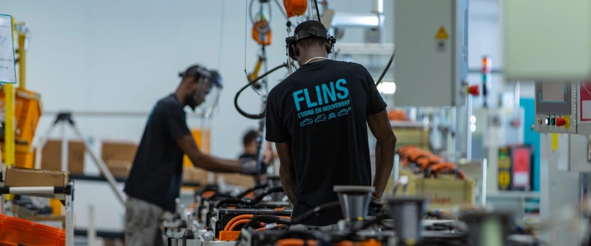 A Flins, la Re-Factory est consacrée à l'économie circulaire.
