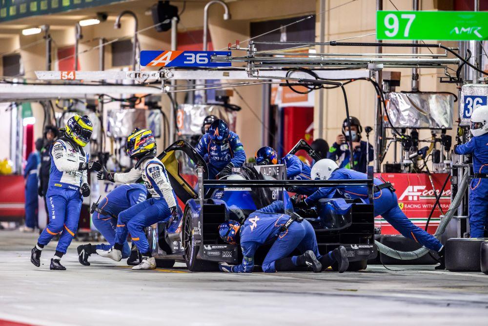 ecurie alpine F1 team